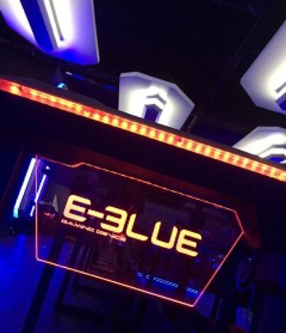 E-BLUE trình diễn màn hình tích hợp thùng máy tại CES 2017