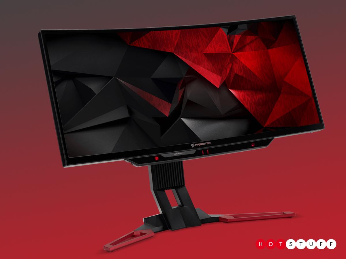 Acer giới thiệu bộ đôi màn hình chơi game Predator tại CES 2017
