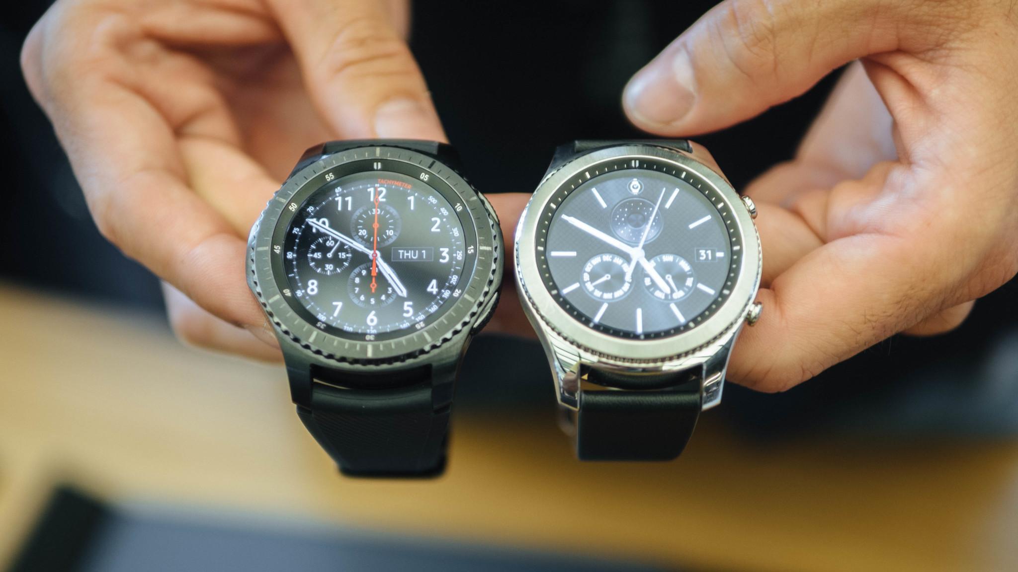 Samsung chính thức ra mắt ứng dụng kết nối Gear S2/ S3 với iPhone