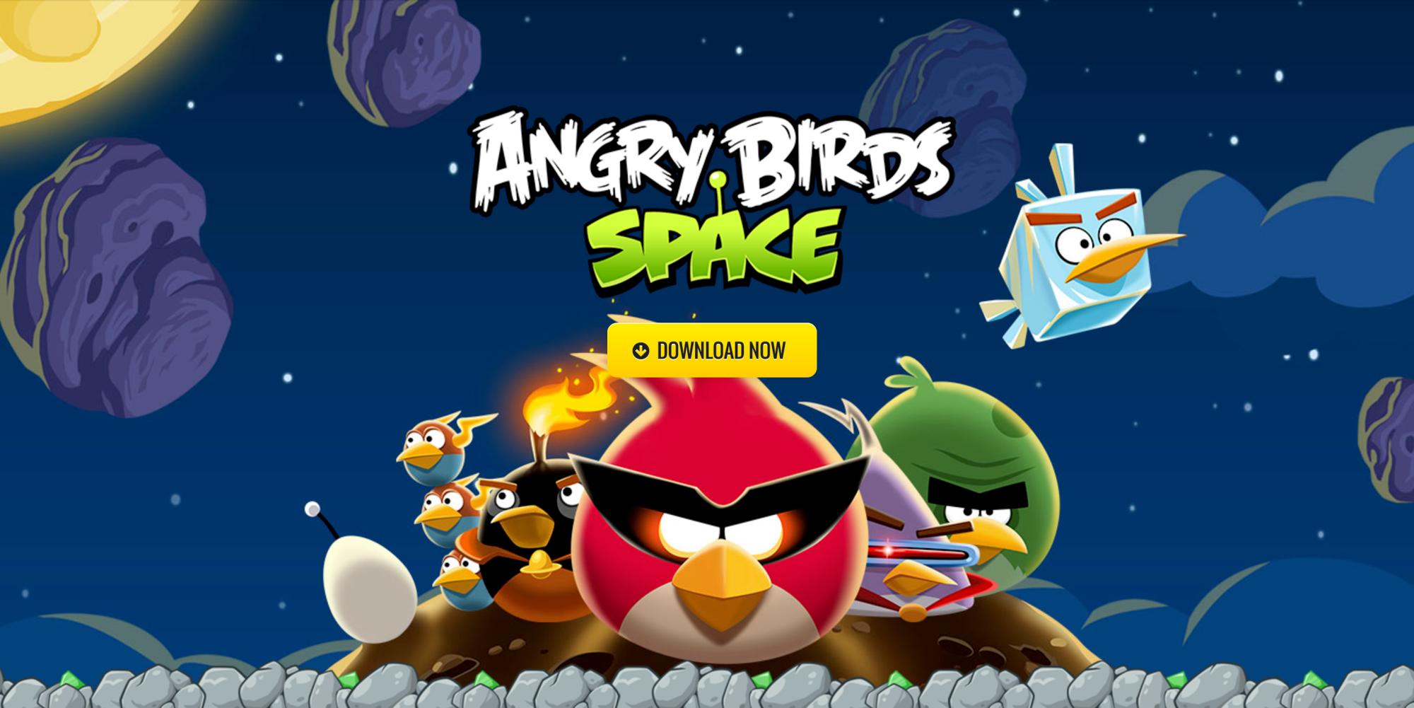 Miễn phí tải về Angry Bird Space cho iPhone, iPad