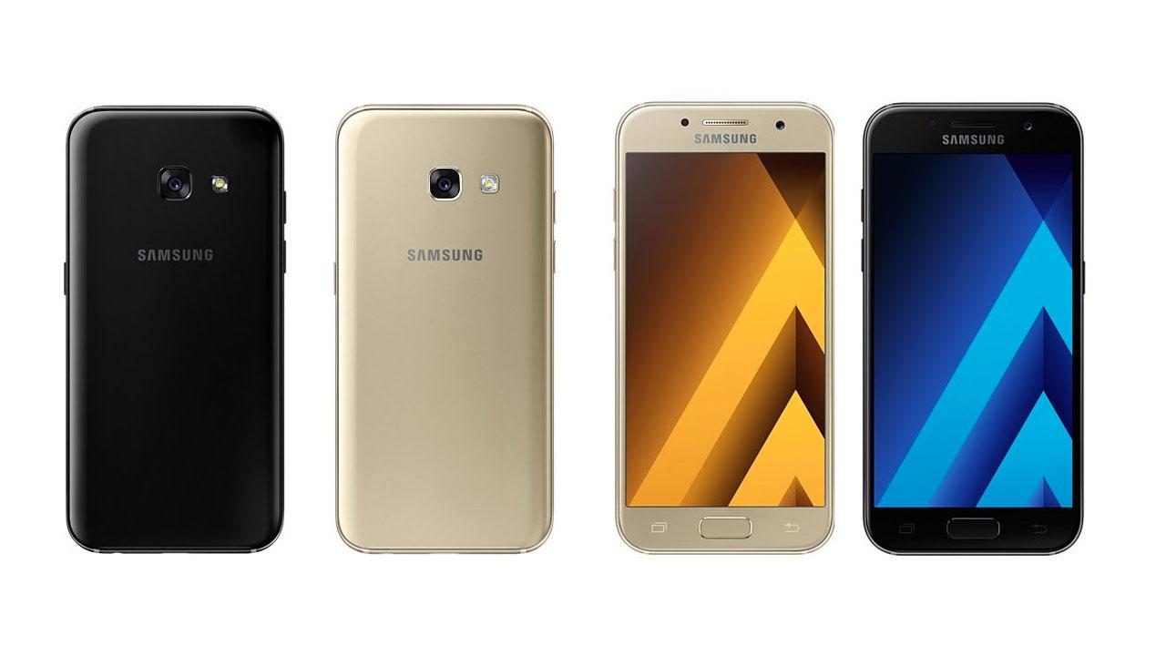 Samsung Galaxy A 2017 chính thức: IP68, camera trước 16MP, Type-C