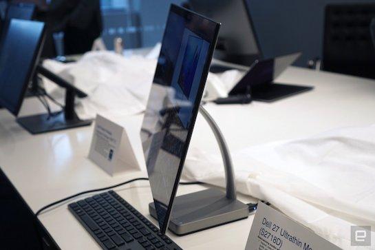 LG và Dell giới thiệu màn hình sử dụng USB-C cho Macbook Pro mới tại CES 2017
