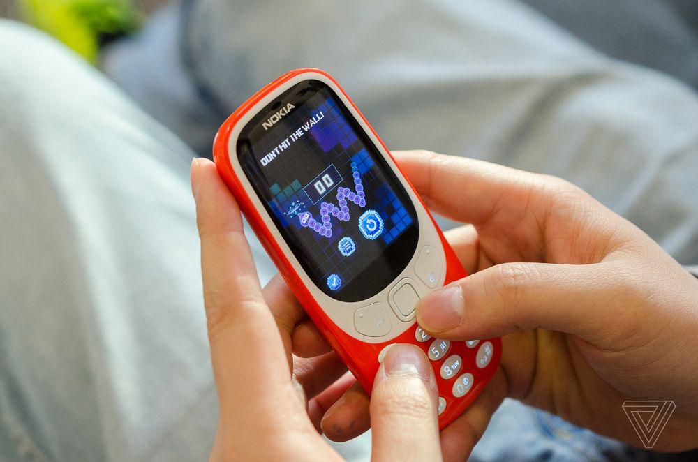 Nokia 3310 trở lại với phiên bản hiện đại hơn