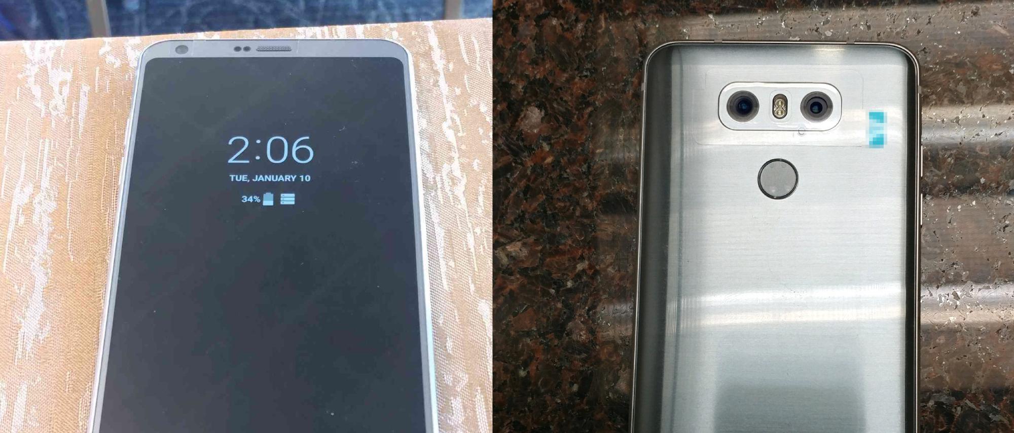 """Hình ảnh trên tay của LG G6: chế độ """"Always on Display"""""""