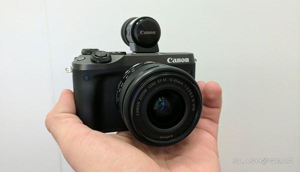 Cận cảnh máy ảnh Canon EOS M6 vừa ra mắt