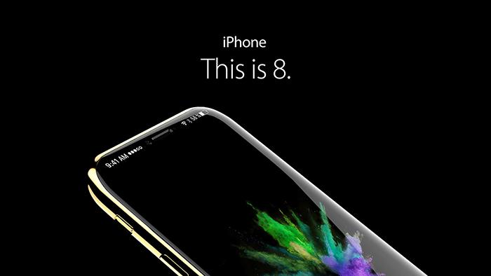 Cùng ngắm nhìn hình ảnh tuyệt đẹp của iPhone 8 concept