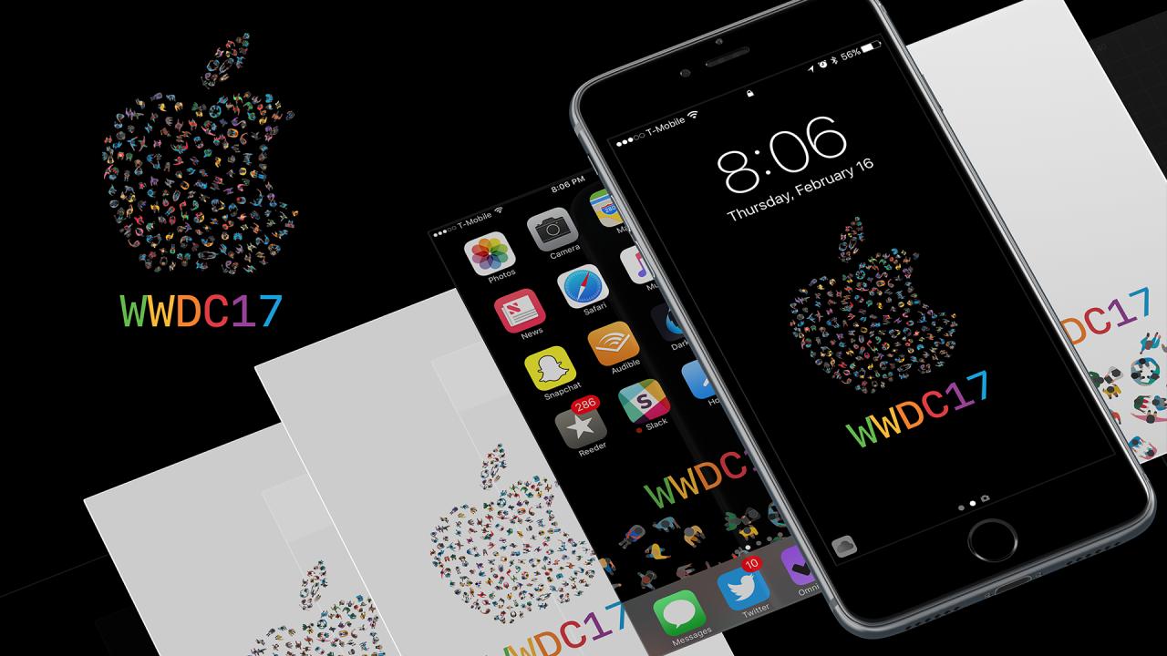 Wallpapers đẹp cho iDevice: Hình nền WWDC2017