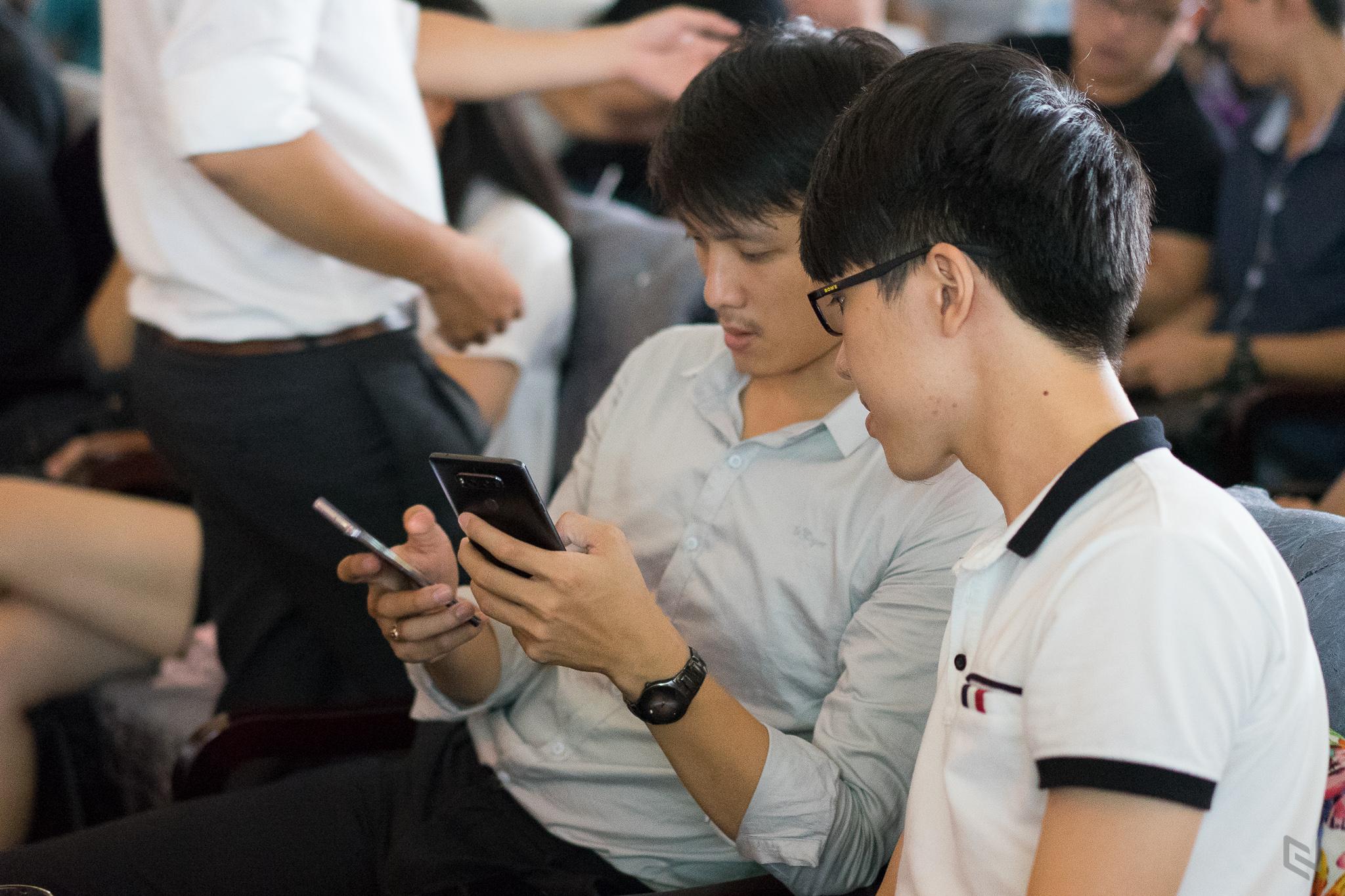 Hình ảnh buổi Offline Galaxy S8 đầu tiên tại Việt Nam