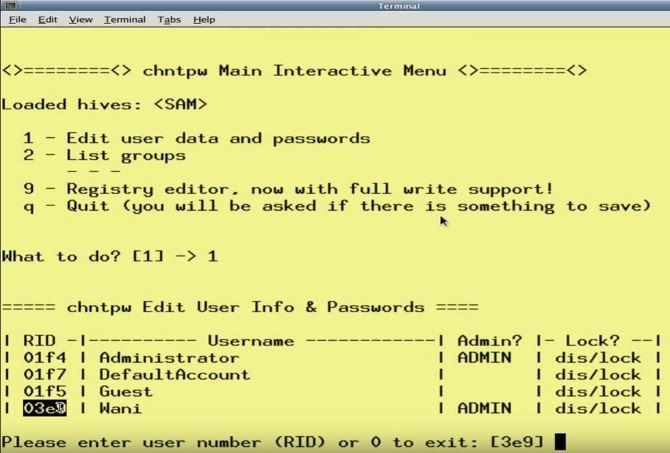 3 cách khôi phục lại Password Administrator trên Windows