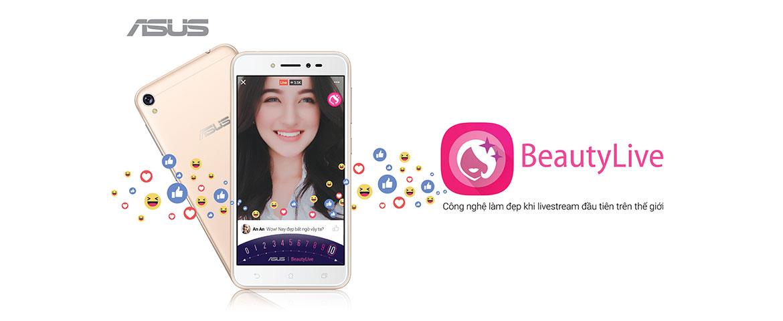 """ASUS chính thức ra mắt ZenFone Live """"thánh live stream"""" giá 3.690.000 đồng"""