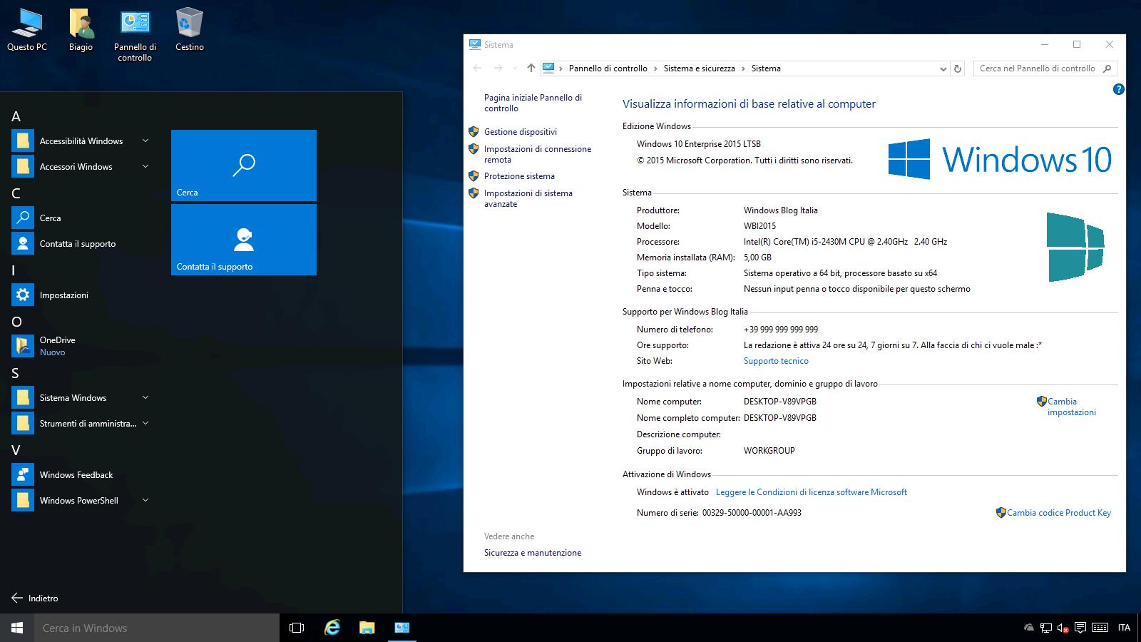 Danh sách các phiên bản của Windows 10