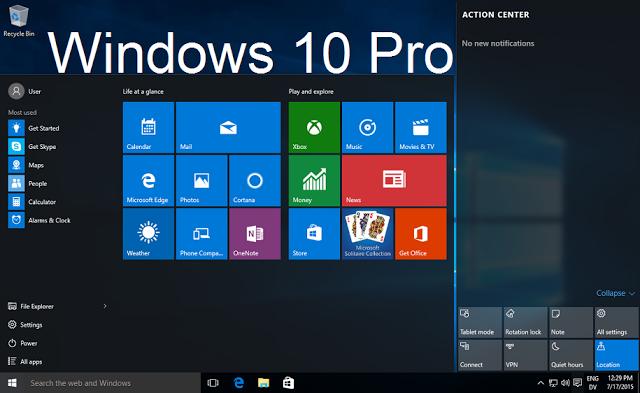 Sự khác biệt giữa các phiên bản Windows 10