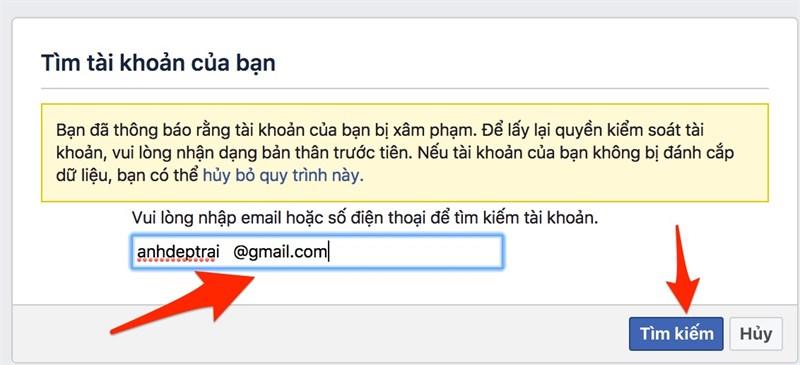 Cách lấy lại tài khoản Facebook bị hack trong một nốt nhạc