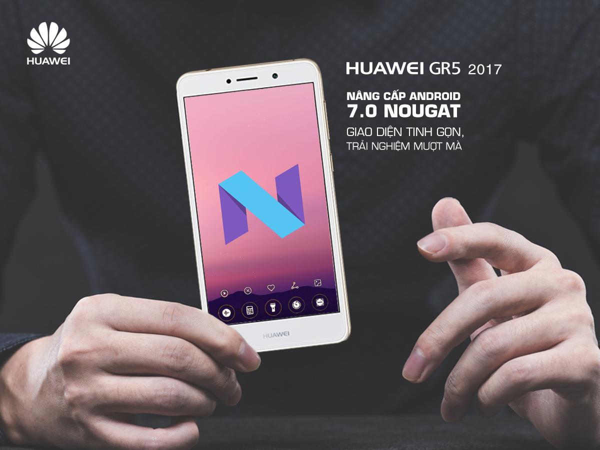 Huawei GR5 2017 Pro giảm giá và cập nhật lên Android 7.0