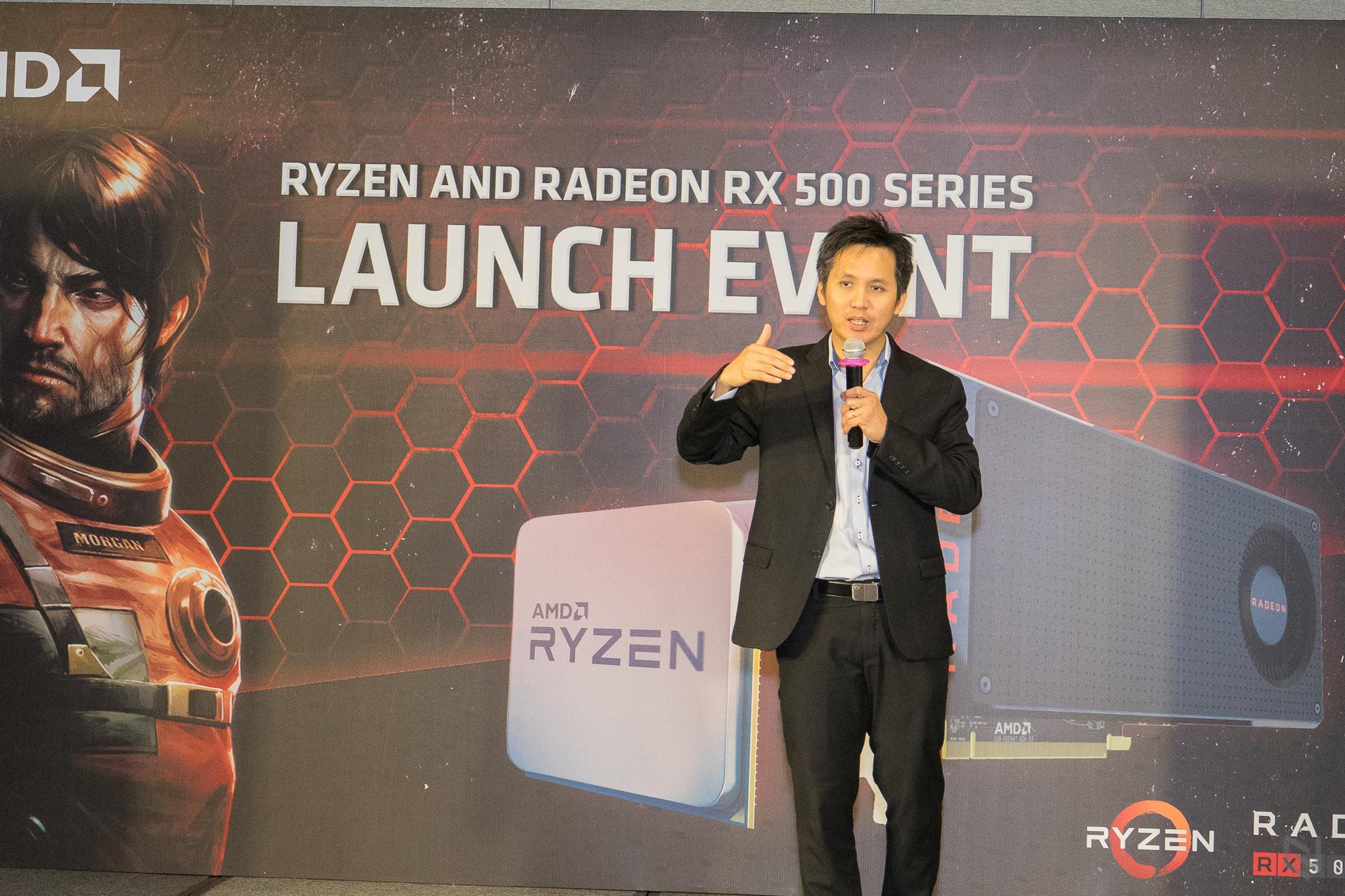 AMD chính thức ra mắt Ryzen cùng dòng card đồ hoạ Radeon RX 500