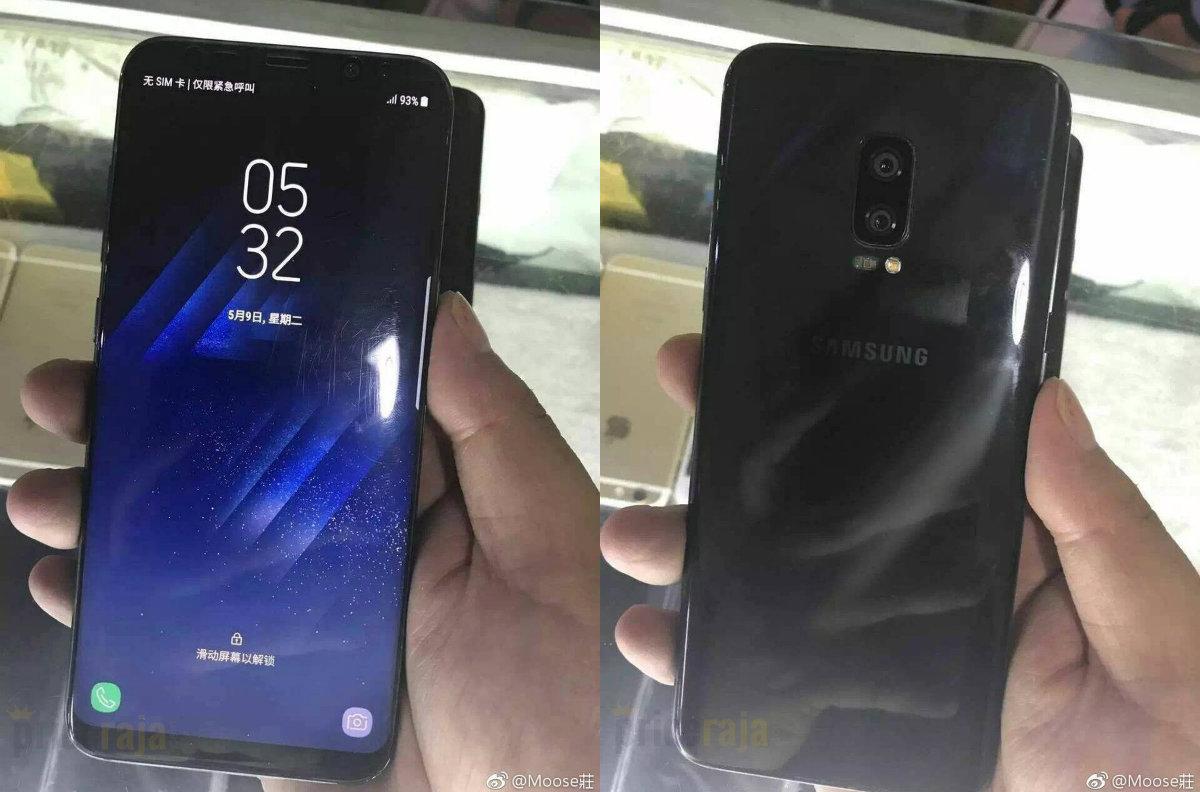 Galaxy Note 8 bất ngờ lộ ảnh thực tế, cam kép mặt lưng