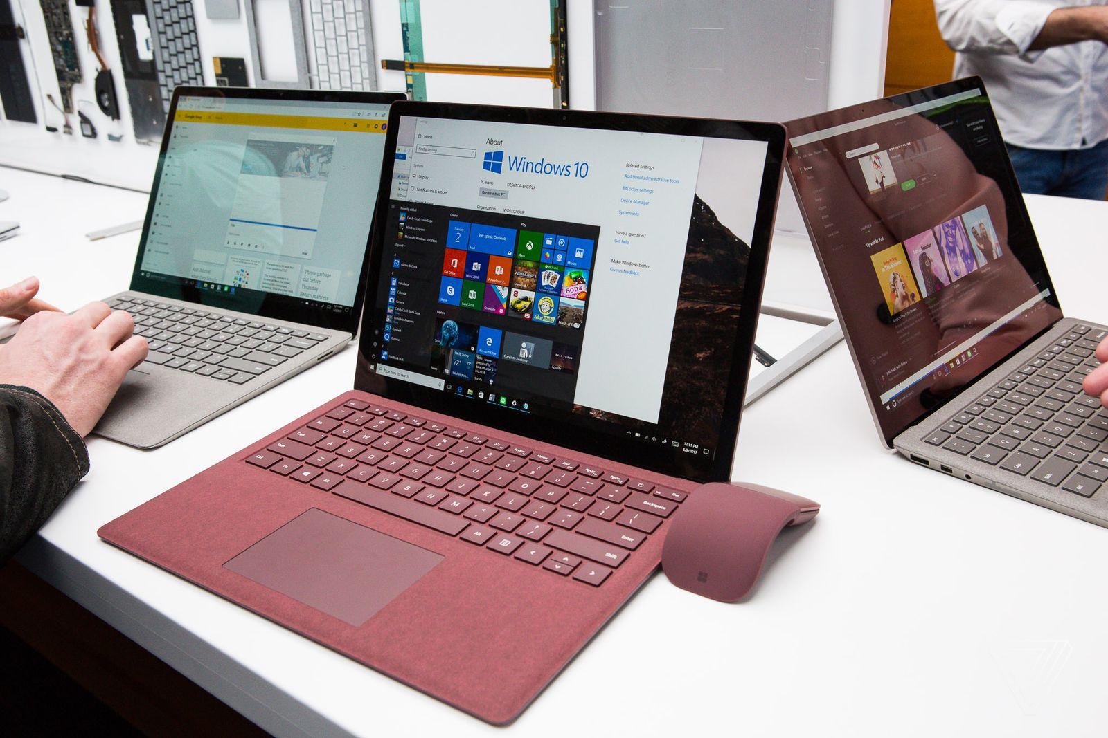 Cảm nhận nhanh Microsoft Surface Laptop: Đẹp