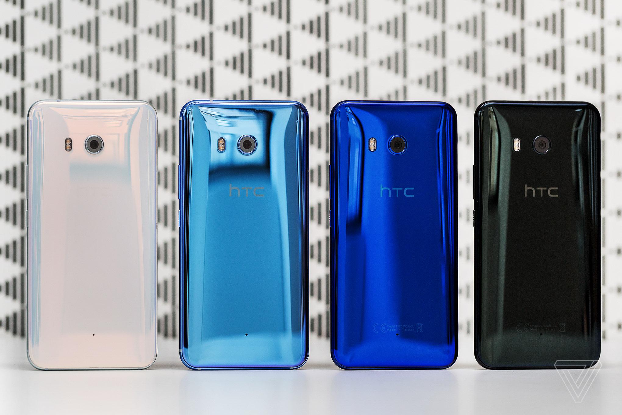 HTC U11 chính thức ra mắt, thiết kế tuyệt đẹp, trải nghiệm mới