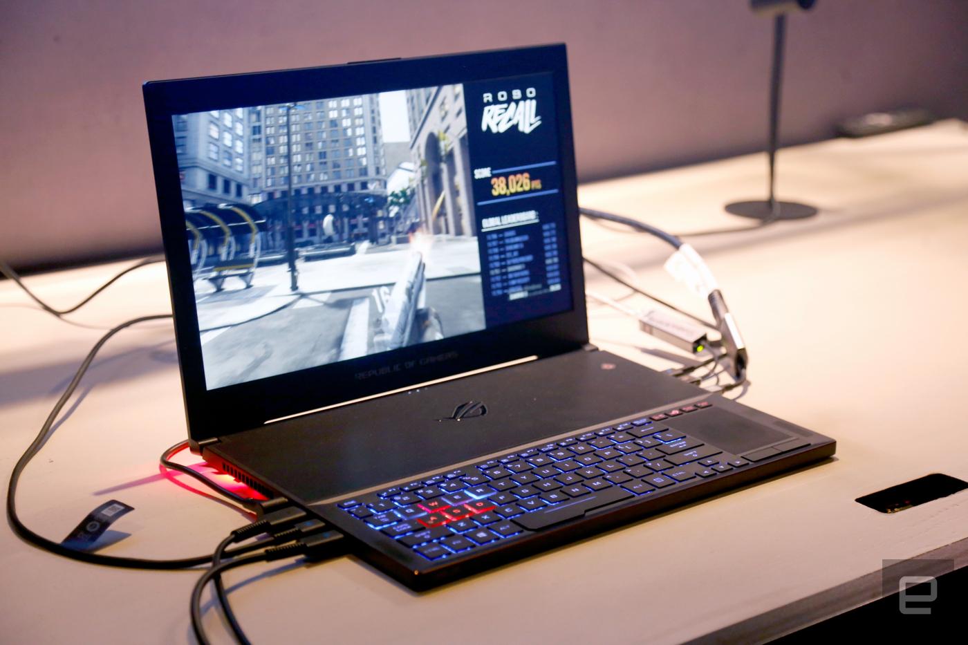 ASUS RoG ra mắt laptop gaming mỏng nhất thế giới, dày 16,9mm, chạy card GTX 1080