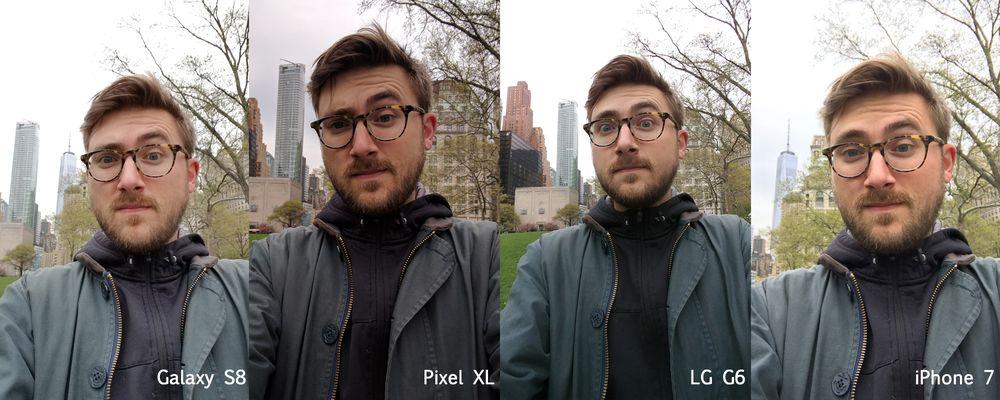 So sánh chất lượng camera: Galaxy S8 với iPhone 7, Google Pixel XL, và LG G6So sánh chất lượng camera: Galaxy S8 với iPhone 7, Google Pixel XL, và LG G6
