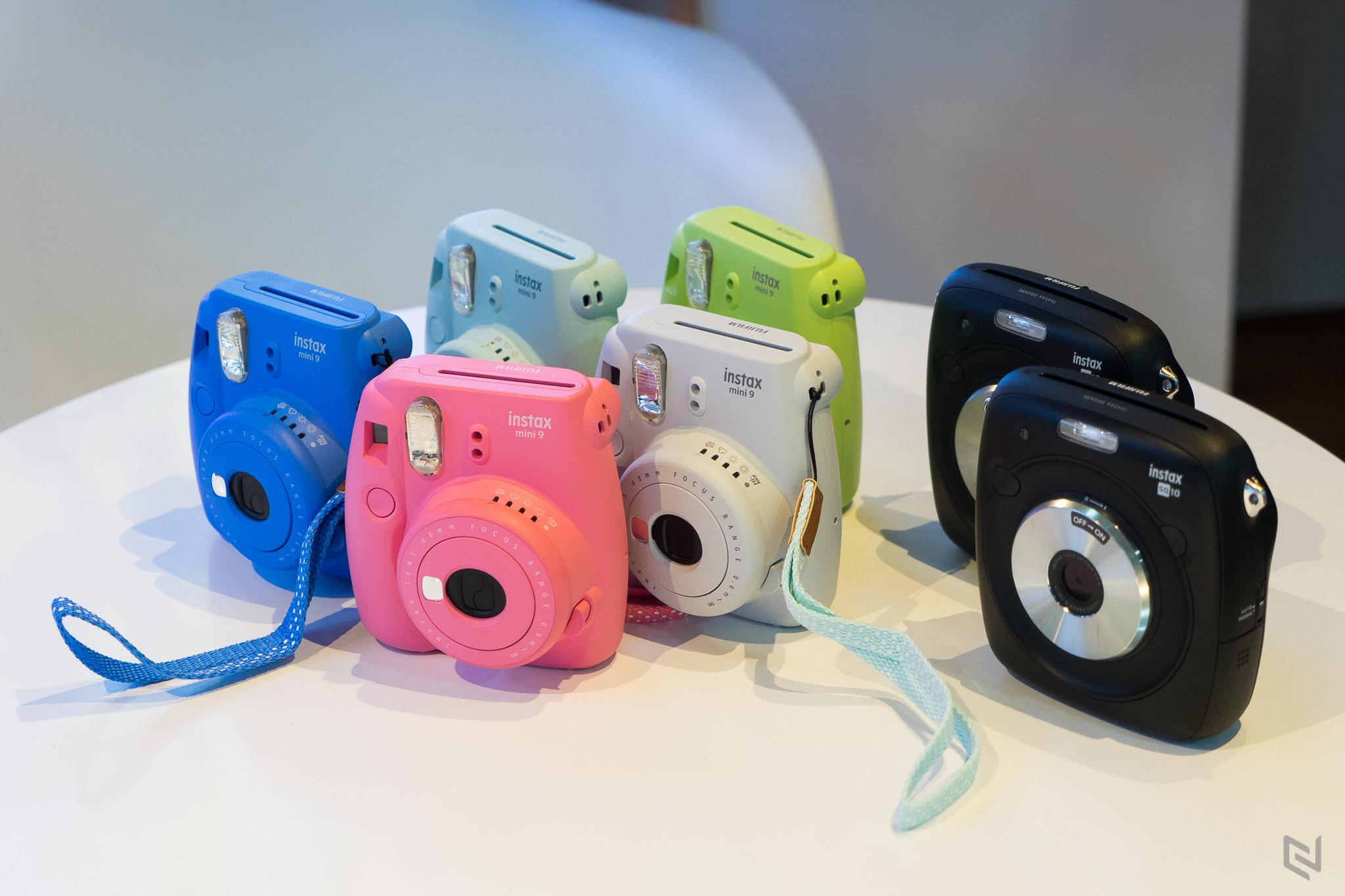 Fujifilm ra mắt bộ đôi instax SQUARE SQ10 và instax mini 9