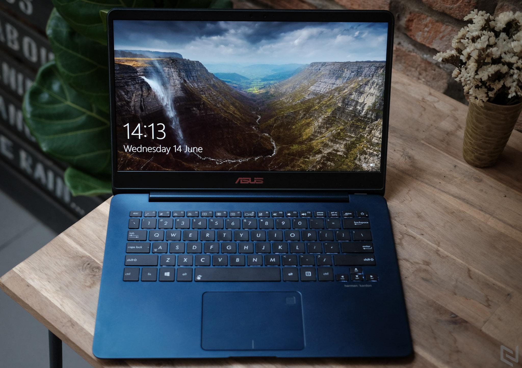 Đánh giá Asus Zenbook UX430: Khi văn phòng cũng cần đến hiệu năng
