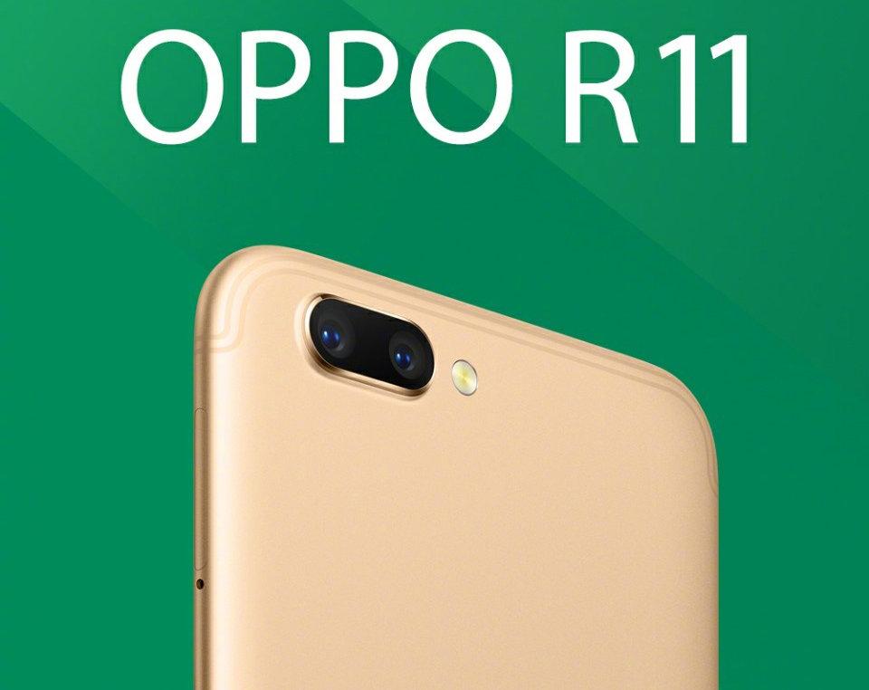 Oppo R11 chính thức trình làng, cam siêu ngon, bán ra từ 10/6