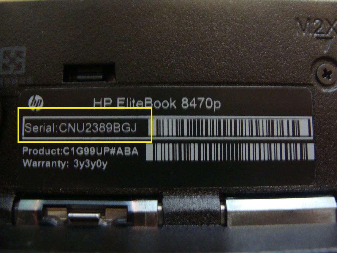 Hướng dẫn cách xem số Serial của máy tính, laptop