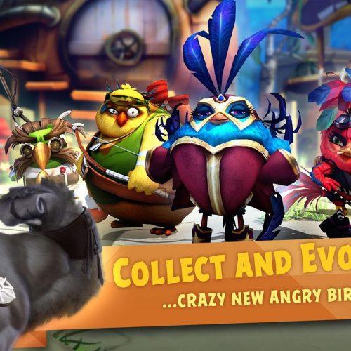 Mời tải về: game Angry Birds Evolution trên iOS và Android