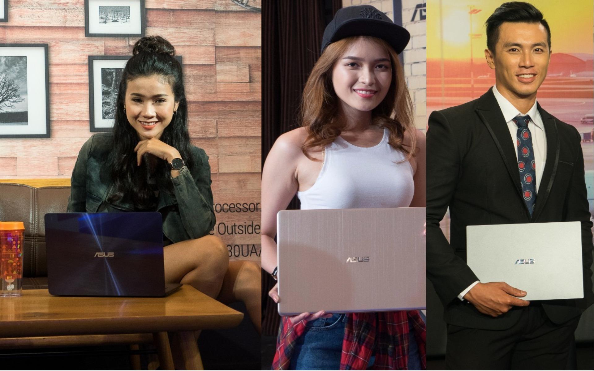 Loạt laptop viền siêu mỏng của ASUS trình làng tại Việt Nam