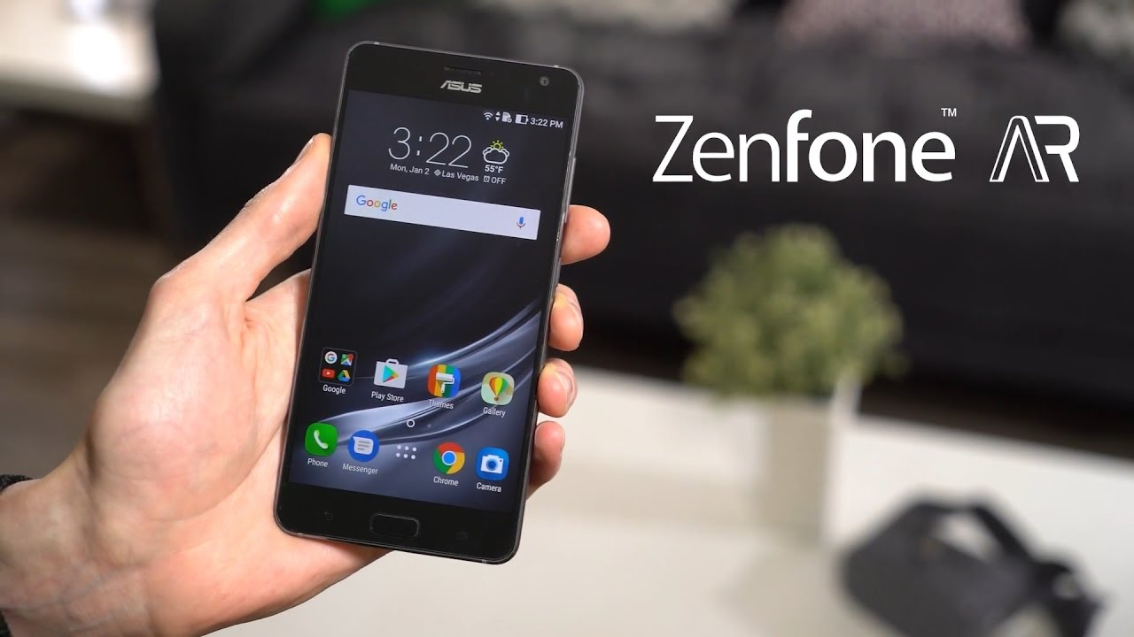ASUS Zenfone AR chính thức ra mắt, giá $825