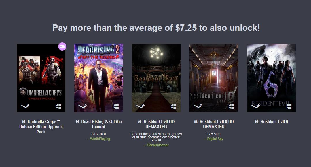 Humble Bundle ra mắt gói Capcom Rising, chỉ với $1 nhận được 3 game