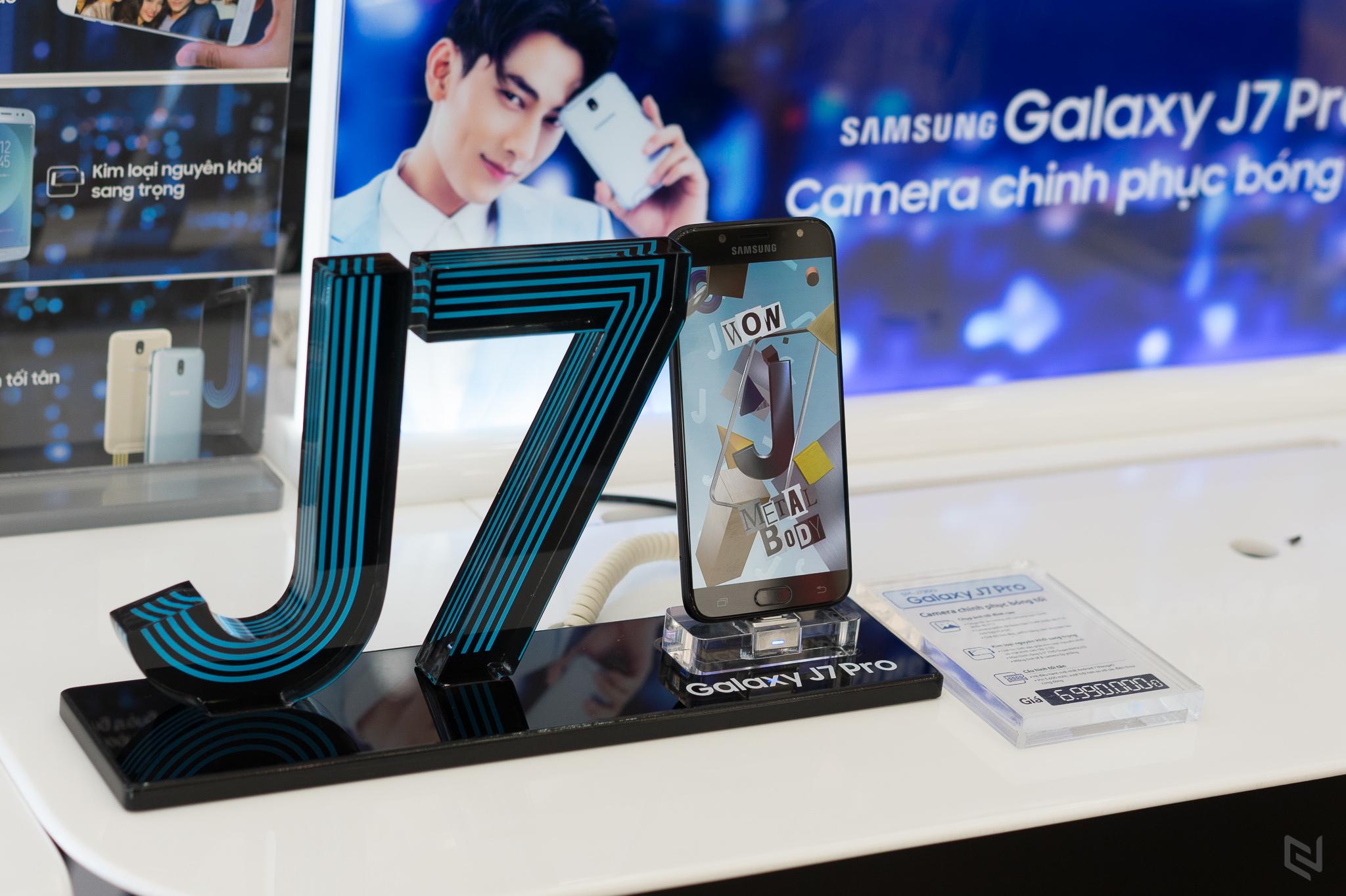 Galaxy J7 Pro chính thức lên kệ tại Việt Nam