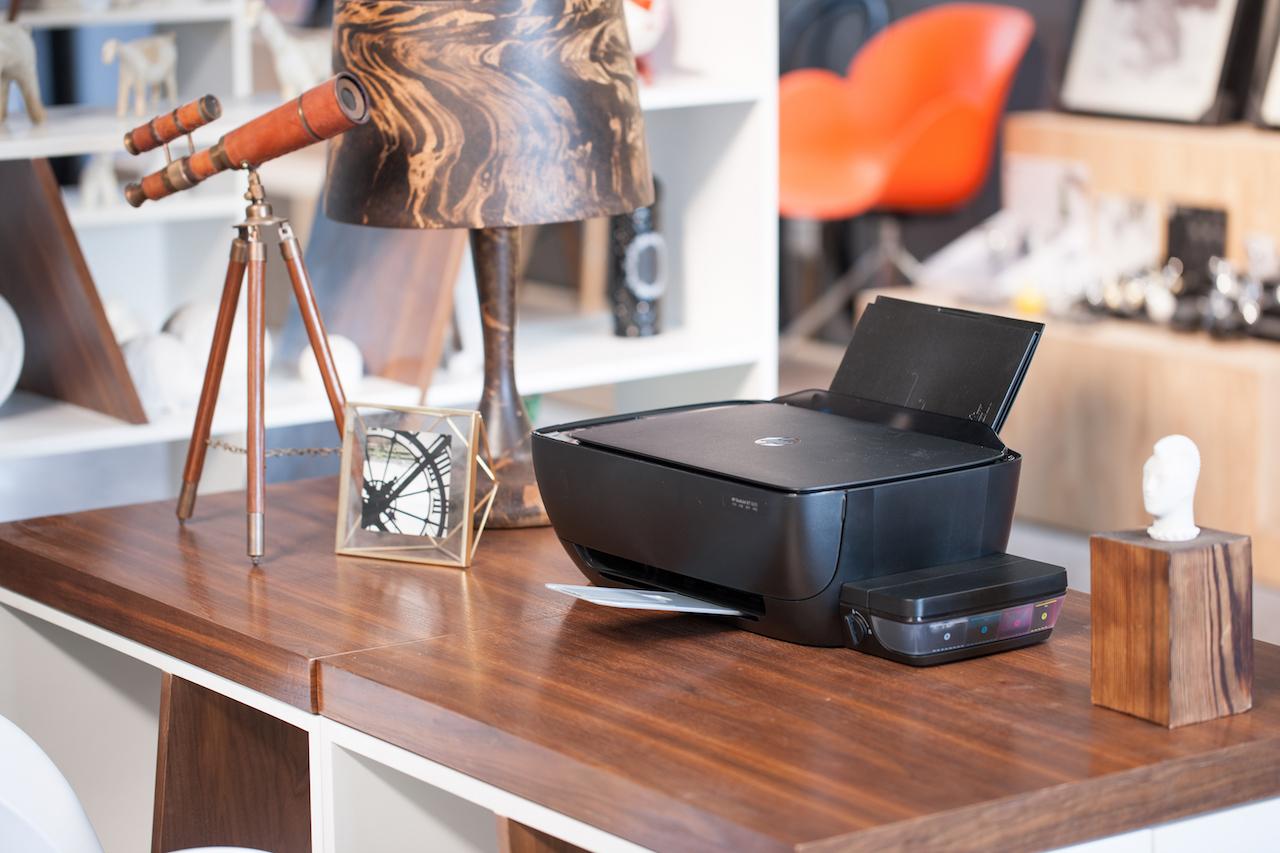 Máy in HP DeskJet GT sử dụng mực in liên tục cho chi phí in ấn thấp hơn