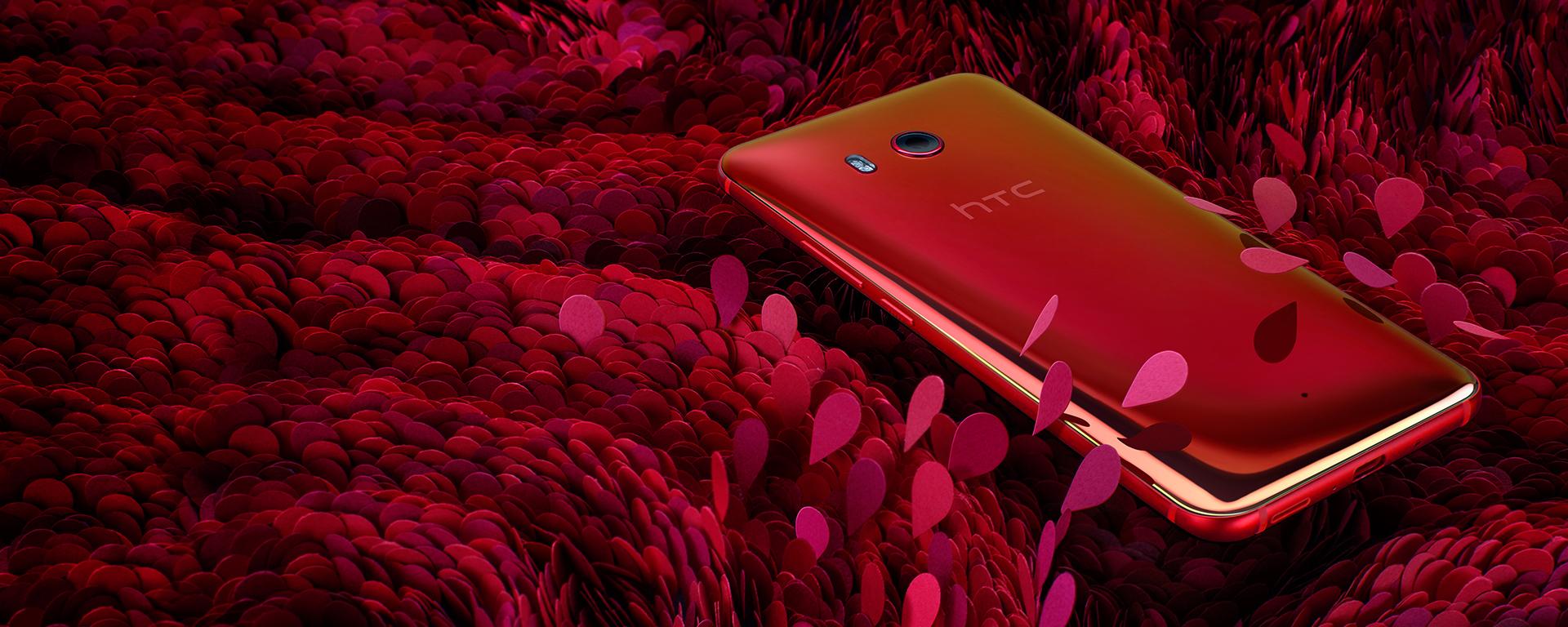 """HTC U11 thêm phiên bản """"Sắc Đỏ Thời Thượng"""" giá 16.990.000 đồng"""