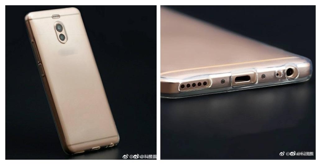 Hình ảnh mặt lưng và cạnh dưới của Meizu M6 Note vừa được tiết lộ