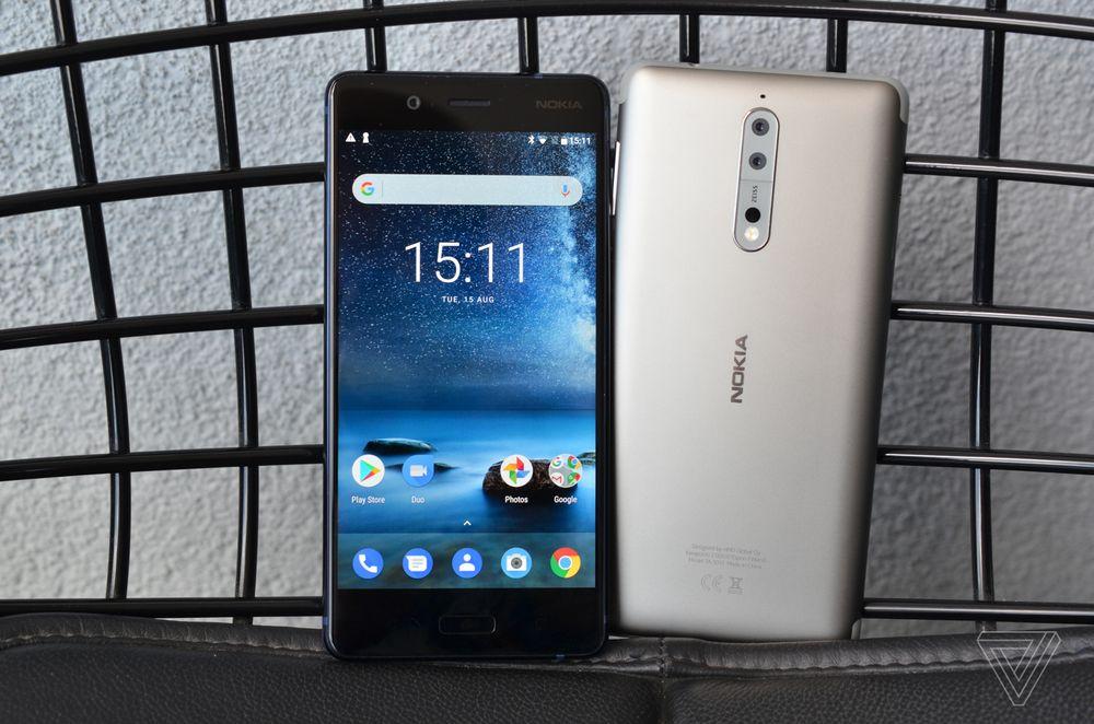 Nokia 8 chính thức ra mắt: Snapdragon 835, camera kép, chế độ chụp ảnh Bothie, giá $705
