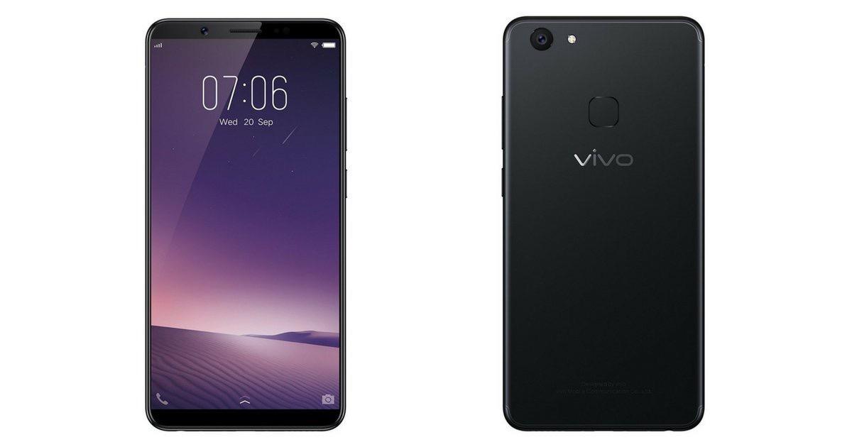 Vivo ra mắt V7+ màn hình 5.99 inch FullView, giá dưới 10 triệu đồng