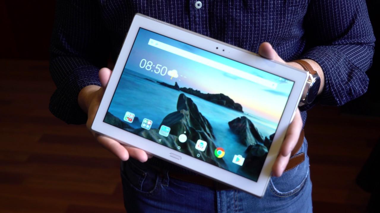 Lenovo cùng lúc cho ra mắt 4 tablet Android