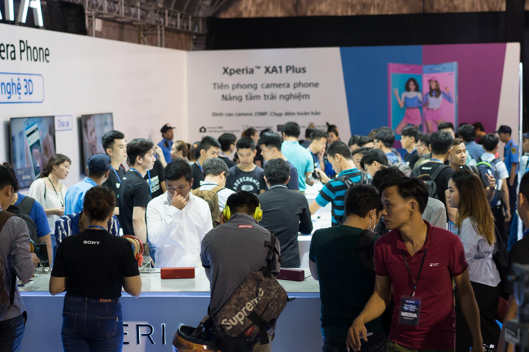 Sony Show 2017 đang diễn ra, mời anh em mê công nghệ tới triển lãm