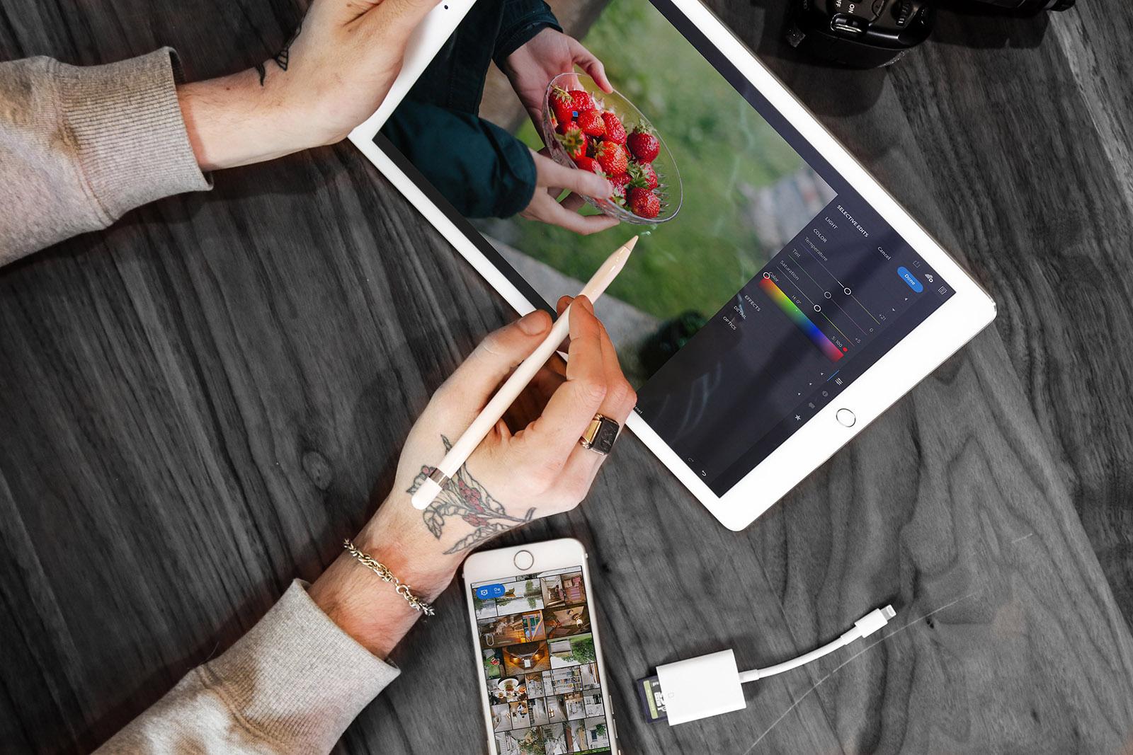 Adobe lên kế hoạch Photoshop phiên bản đầy đủ cho iPad vào năm 2019