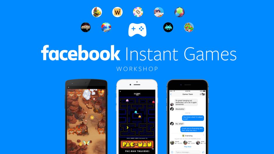 """Mời tham gia """"Facebook Instant Games"""" lần đầu tổ chức tại"""