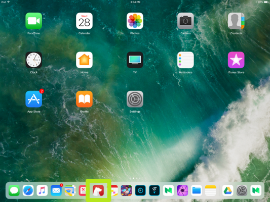 Hướng dẫn chia đôi màn hình iPad sử dụng đa nhiệm trên iOS 11