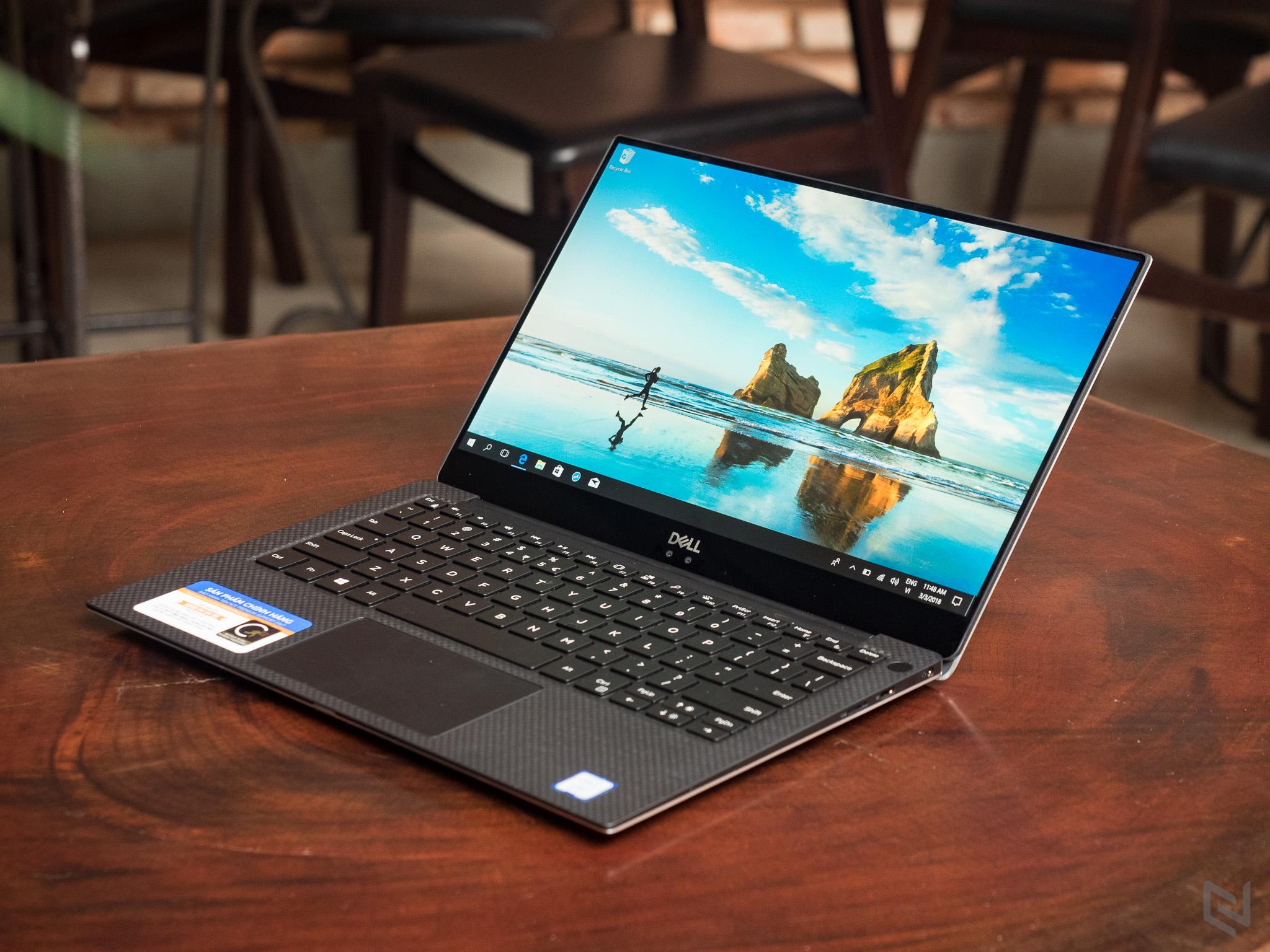 trên tay Dell XPS 13 2018