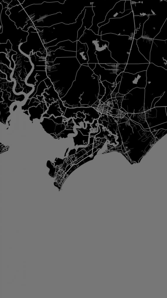 """Tự tạo hình nền điện thoại cực """"nghệ"""" bằng một vị trí trên bản đồ"""