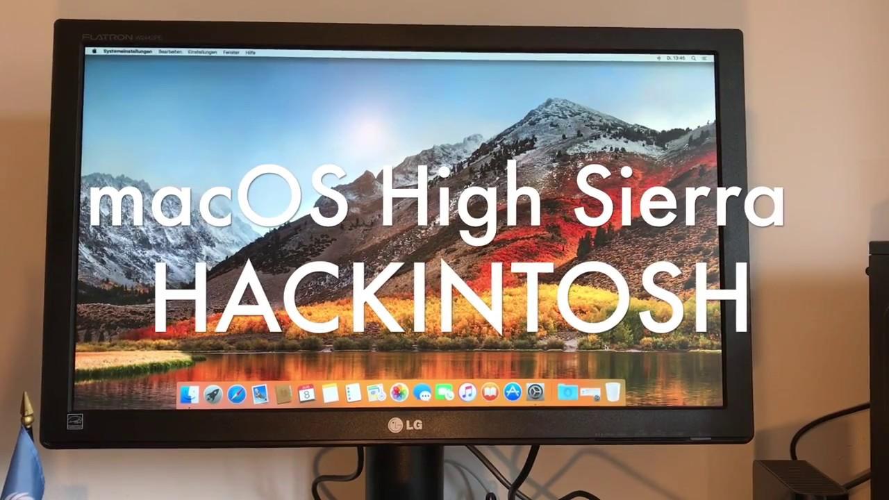 Hướng dẫn cài đặt macOS High Sierra bằng phương pháp sử dụng