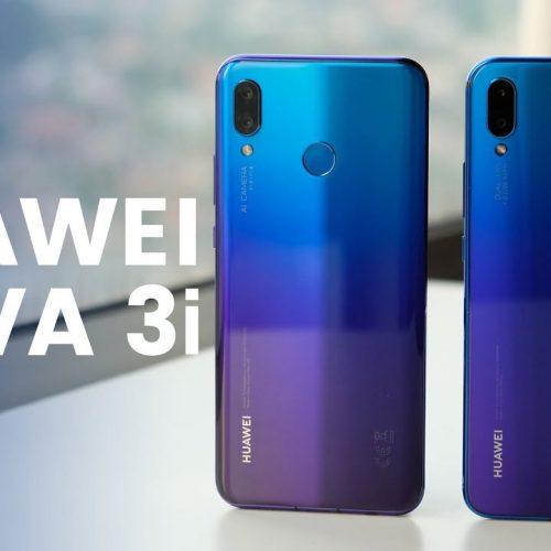 Công nghệ tạo ra màu gradient trên mặt lưng Huawei Nova 3i