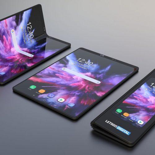 điện thoại màn hình gập