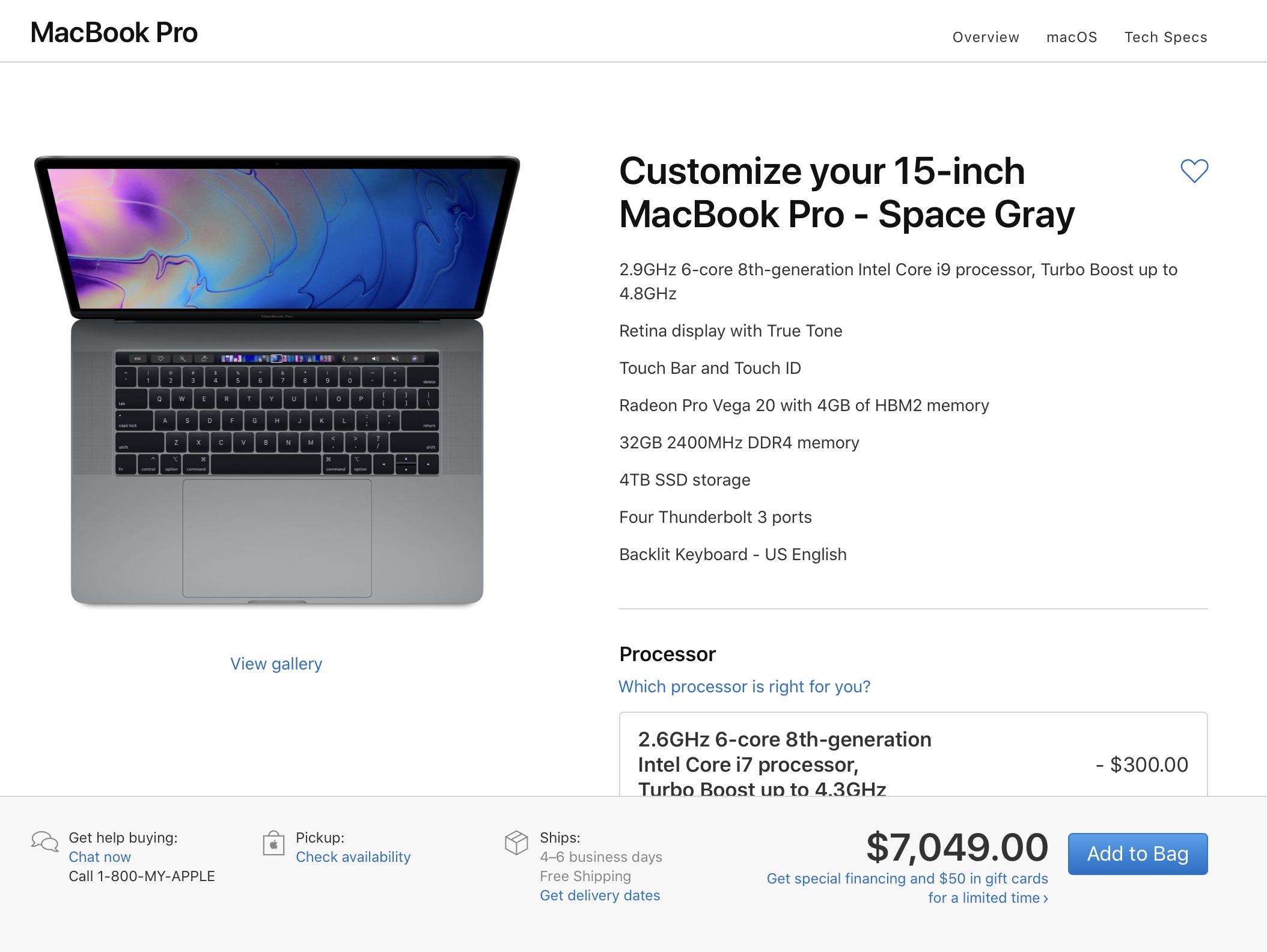 Có thể bạn chưa biết, Apple đã bán ra chiếc MacBook Pro mạnh