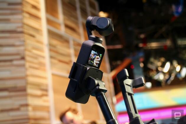 DJI ra mắt camera bỏ túi Osmo Pocket: quay video 4K chống rung 3 trục